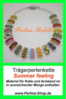Kit-Trägerperlen Summer Feeling
