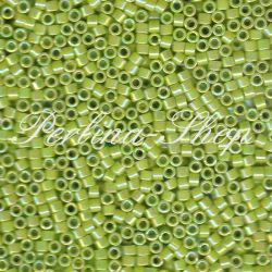 Delica DB0169 opaque chartreuse green AB DB-0169