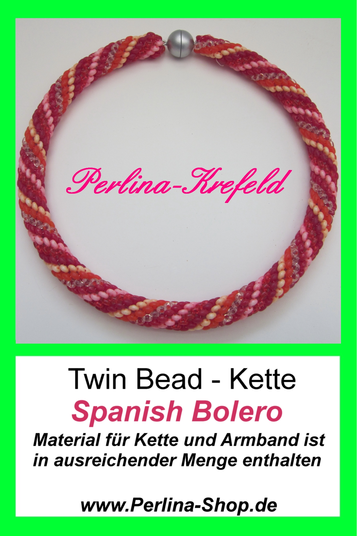 PerlIna-Shop - Kit-Twin Spanish-Bolero